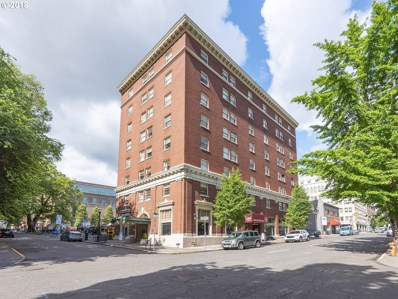 1005 SW Park Ave UNIT 504, Portland, OR 97205 - MLS#: 18156276