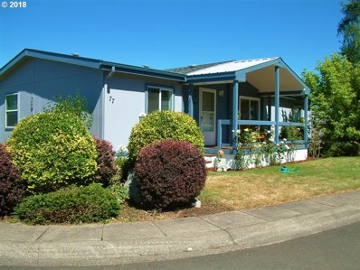 700 N Mill St UNIT 77, Creswell, OR 97426 - MLS#: 18166087