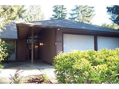 1670 SW 90TH Ave, Portland, OR 97225 - MLS#: 18241580