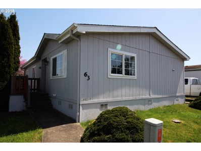 310 Pitney Ln Space 63, Junction City, OR 97448 - MLS#: 18398766