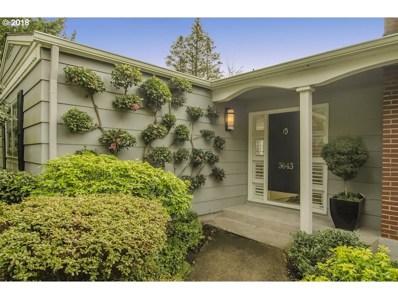 3643 SW 52ND Pl, Portland, OR 97221 - MLS#: 18522179