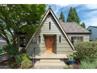 6724 SE 21ST Ave, Portland, OR 97202 - MLS#: 18631086