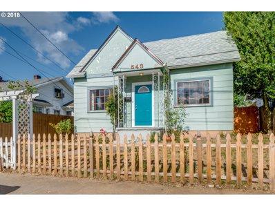 543 NE 79TH Ave, Portland, OR 97213 - MLS#: 18683113