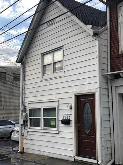1335 Emmett Street, Allentown, PA 18102 - MLS#: 569256