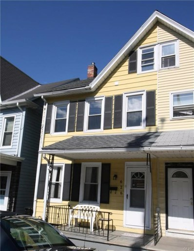 626 Valley Street, Easton, PA 18042 - MLS#: 586094