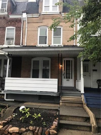 822 N 7th Street, Allentown, PA 18102 - MLS#: 590293