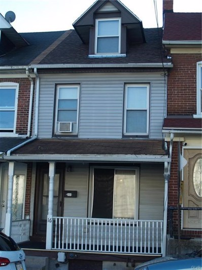 16 S Bradford Street, Allentown, PA 18109 - MLS#: 592742