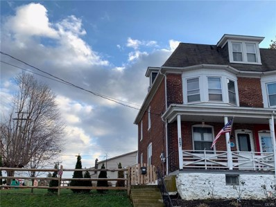 267 E Wilkes Barre Street, Easton, PA 18042 - MLS#: 596806