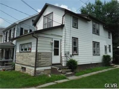 243 Main Street, Walnutport, PA 18088 - MLS#: 597307