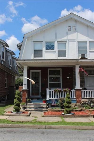 1003 Cherokee Street, Fountain Hill, PA 18015 - MLS#: 600862
