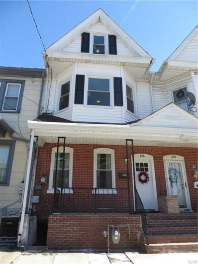 806 Center Street, Bethlehem, PA 18018 - MLS#: 603742