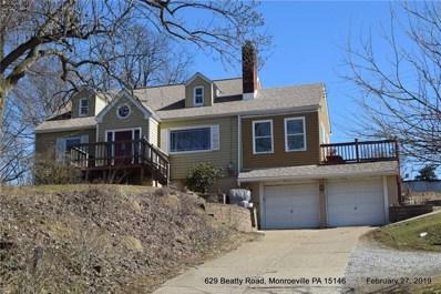 629 Beatty Road, Monroeville, PA 15146 - MLS#: 1384058