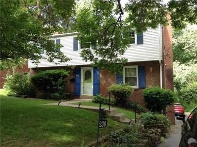 236 Sleepy Hollow Rd, Pittsburgh, PA 15216 - MLS#: 1396932