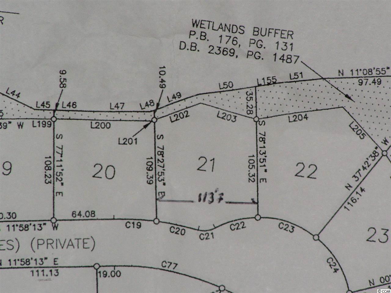 Lot 21 Highwood Circle, Murrells Inlet