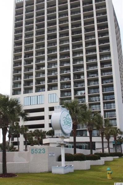 5523 N Ocean Boulevard UNIT 609, Myrtle Beach, SC 29577 - MLS#: 1712453
