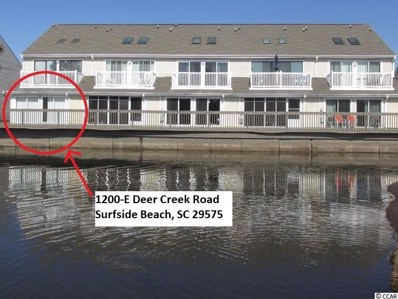 1200 Deer Creek Rd. UNIT E, Surfside Beach, SC 29575 - MLS#: 1820874