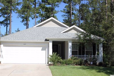 645 Grand Cypress Way, Murrells Inlet, SC 29576 - #: 1821096
