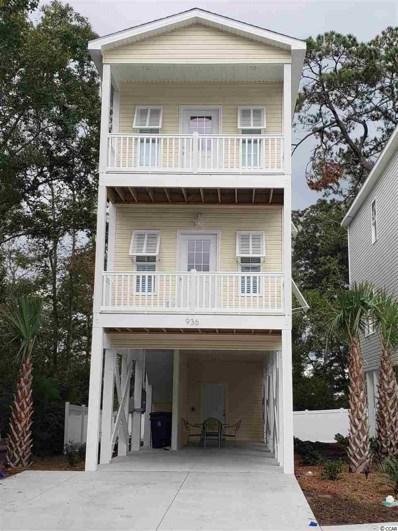 936 Leah Jayne Ln., North Myrtle Beach, SC 29582 - MLS#: 1821690