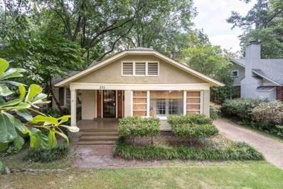 252 S Holmes St, Memphis, TN 38111 - #: 10034024