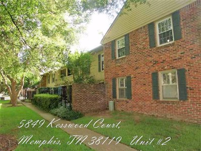 5849 Kesswood Court Ct UNIT 2, Memphis, TN 38119 - #: 10054122