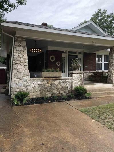 687 N Idlewild St, Memphis, TN 38107 - #: 10059310