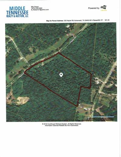 383 Napier Rd, Hohenwald, TN 38462 - MLS#: 1941712