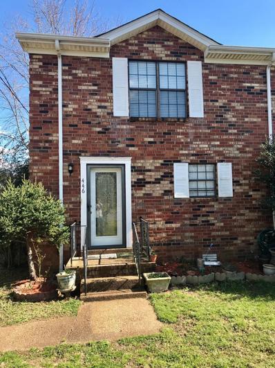 446 Rural Hill Rd, Nashville, TN 37217 - MLS#: 2022905