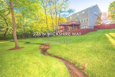 736 N Wickshire Way, Brentwood, TN 37027 - MLS#: 2065141