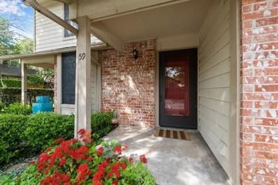 3801 Menchaca Rd UNIT 59, Austin, TX 78704 - MLS##: 1756636