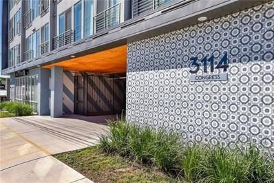 3114 S Congress Avenue UNIT 303, Austin, TX 78704 - #: 1911831