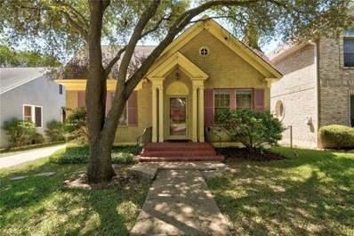 603 Texas Ave, Austin, TX 78705 - MLS##: 2046693