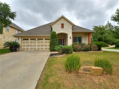 1506 Liberty Oaks Blvd, Cedar Park, TX 78613 - #: 2484187