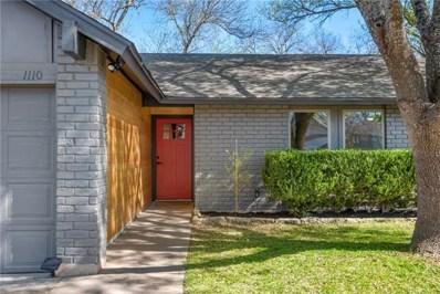 1110 Speer Ln, Austin, TX 78745 - MLS##: 2510960