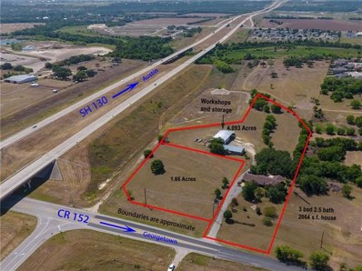 760 County Road 152, Georgetown, TX 78626 - #: 2835480