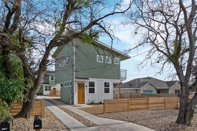 7609 Bennett Ave UNIT A, Austin, TX 78752 - MLS##: 3971665