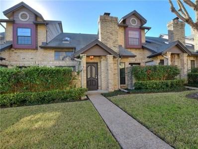 10819 Crown Colony Dr UNIT 17, Austin, TX 78747 - MLS##: 5056856