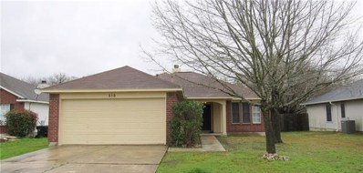 518 Meadowside Dr, Hutto, TX 78634 - MLS##: 5899148