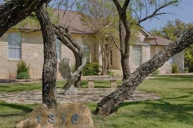 1316 Ridge Harbor Dr, Spicewood, TX 78669 - #: 6444044