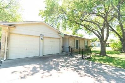 1709 W Mesa Park Dr, Round Rock, TX 78664 - #: 6785120