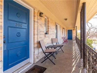 3309 Grooms Street UNIT 206-2, Austin, TX 78705 - #: 8473647