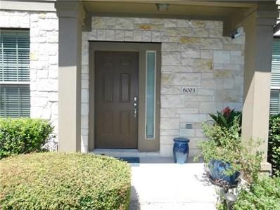3101 Davis Ln UNIT 6003, Austin, TX 78748 - MLS##: 9819187