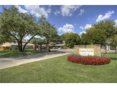 5630 Cedar Creek Boulevard, Benbrook, TX 76109 - MLS#: 13091343