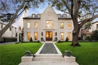 4430 Bordeaux Avenue, Highland Park, TX 75205 - MLS#: 13783345