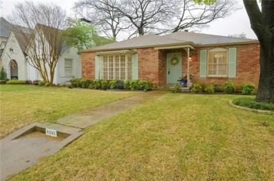 4085 Purdue Avenue, University Park, TX 75225 - MLS#: 13785256