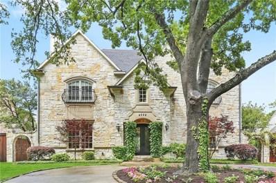 4028 Southwestern Boulevard, University Park, TX 75225 - MLS#: 13802326