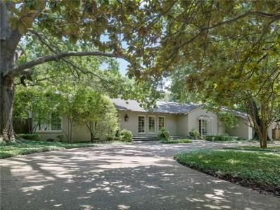 5322 Wateka Drive, Dallas, TX 75209 - MLS#: 13807362