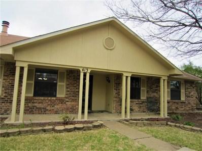 413 Timberbend Trail, Allen, TX 75002 - MLS#: 13819576