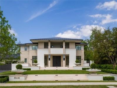 3508 Crescent Avenue, Highland Park, TX 75205 - MLS#: 13822443