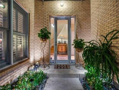 4310 Buena Vista Street UNIT 17, Dallas, TX 75205 - MLS#: 13842993
