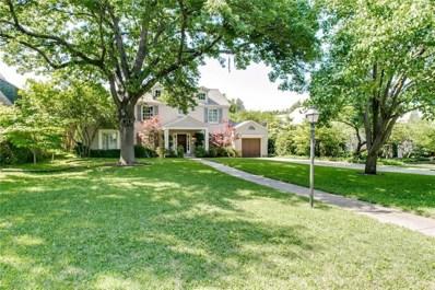 5330 Montrose Drive, Dallas, TX 75209 - MLS#: 13848396
